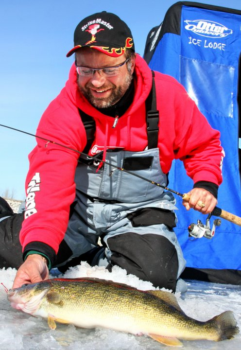 Mark Martin Ice Fishing